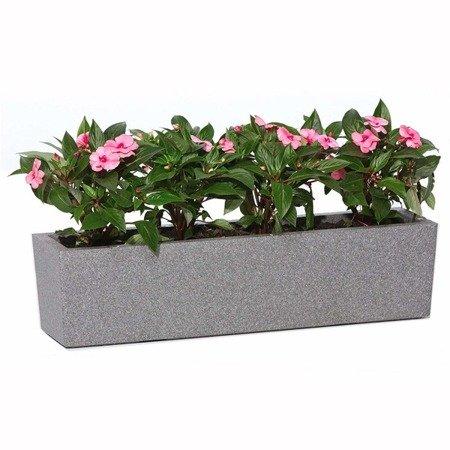 Flower pot IQBANA LUZERN 780 Grey