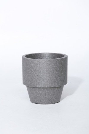 Flower pot IQBANA MONTREUX 380 Grey