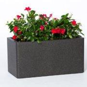 Flower pot IQBANA RECTANGLE 760 Grey