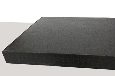 Płyta 1000x800x80 80g/l czarna