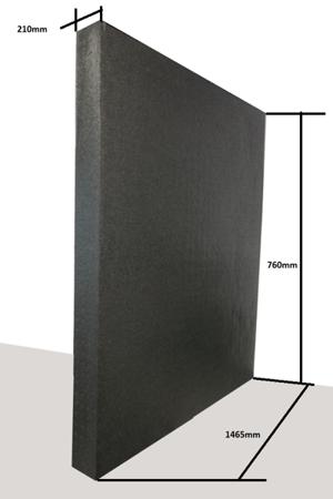Płyta 1460/740/210 30g/l czarna