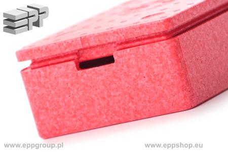 Pudełko / Apteczka - czerwony