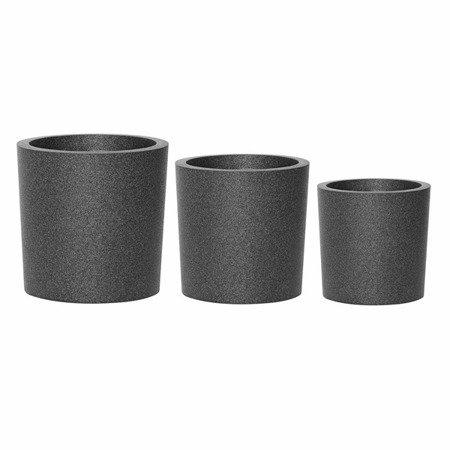 Zestaw 3 donic IQBANA ROUND czarny - 390/320/250